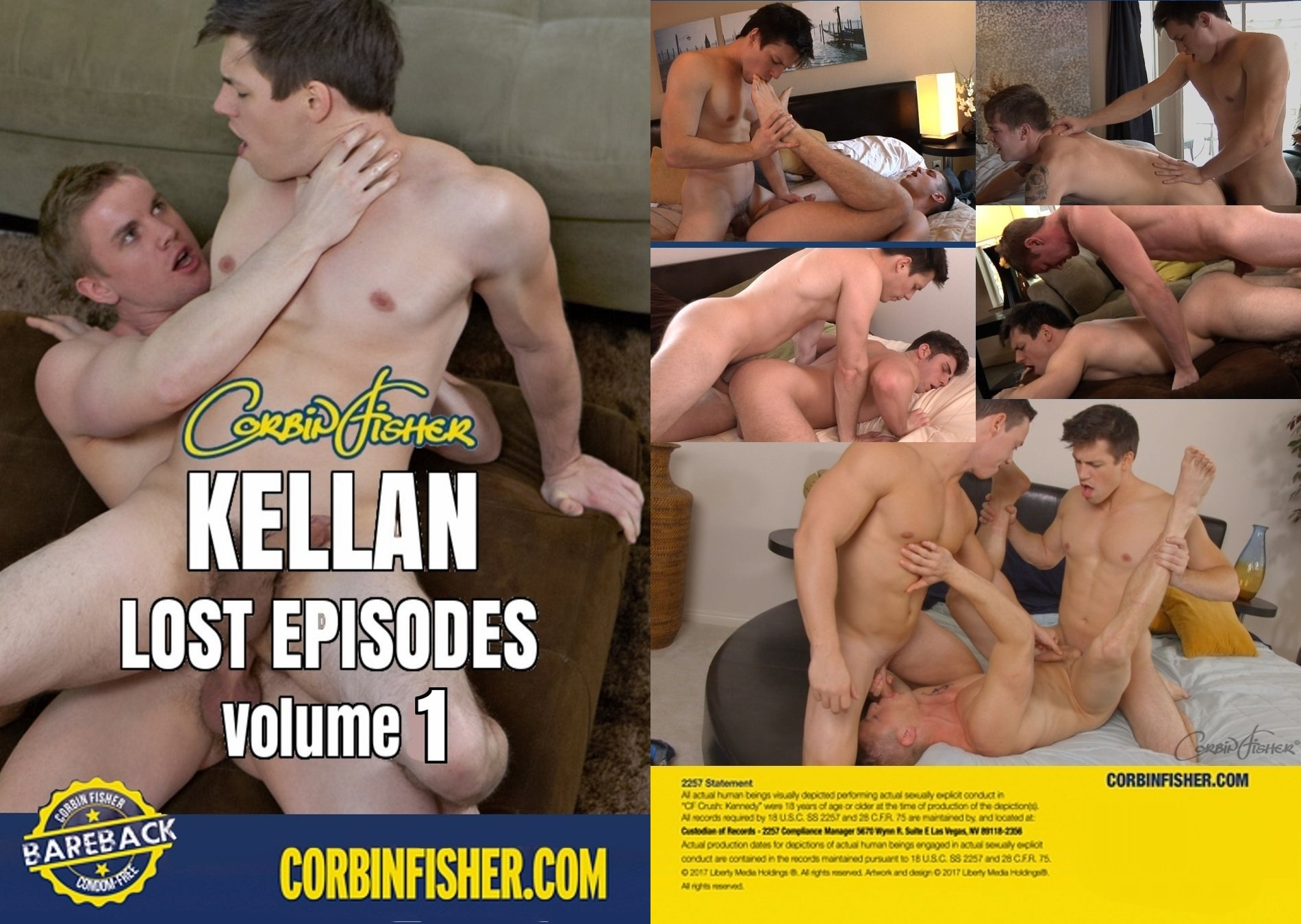 CorbinFisher – Kellan Lost Episodes Volume 1