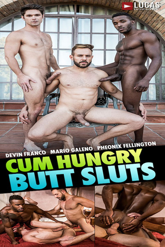LucasEntertainment – Mario Galeno Barebacks Devin Franco And Pheonix Fellington