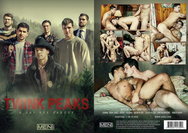MEN – Twink Peaks – A Gay XXX Parody / 2017