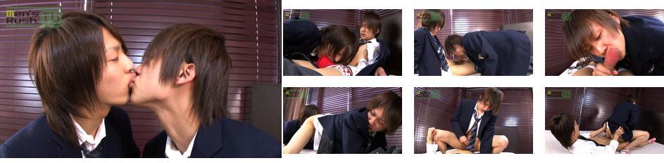 Men's Rush.TV – MR-KR437 – セイヤとヤマトがブレザー姿で絡み合う☆