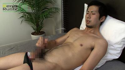 Men's Rush.TV – MR-ON531 – 短髪スジ筋青年がローション使って肩まで激発射☆