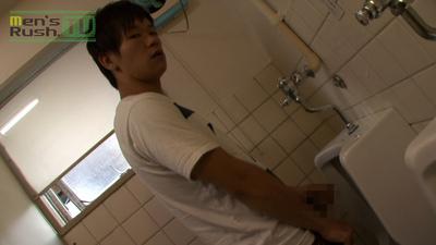 Men's Rush.TV – MR-ON552 – 草食系若男子、トイレで勃起☆