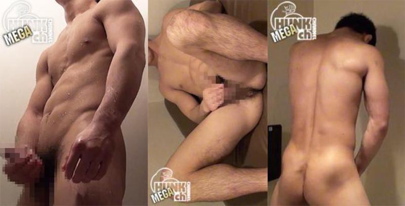 HUNK CHANNEL – NKB-NON055 – 見せるのがクセになってしまった!?童貞体操部員がシャワー室で淫乱オナニー!!