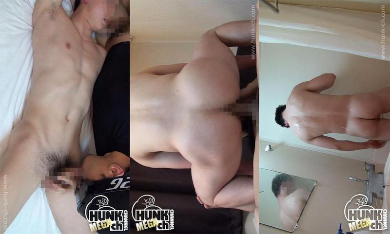 HUNK CHANNEL – NKB-NON118 – 生掘りで感じまくり!!現役の色白プリケツ体操部員が引き締まったプリケツを突きまくられ悶絶!!!