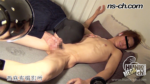 HUNK CHANNEL – NS-278 – 19歳のイケメンを街スカでゲット!!射精後責めでイキ地獄!!