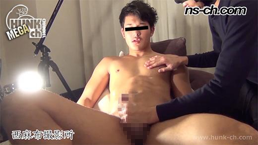 HUNK CHANNEL – NS-280 – 90キログラム級男子大学生!!3回射精でも勃起はおさまらない!!