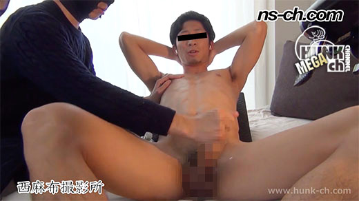 HUNK CHANNEL – NS-333 – 体育会男子が一度限りの出演!!射精禁止命令!?