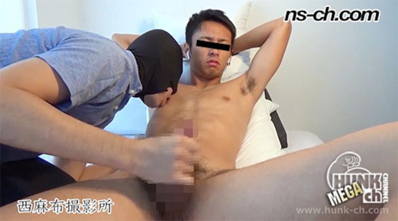 HUNK CHANNEL – NS-367 – 色黒体育会男子が男経験!!撮影交渉編