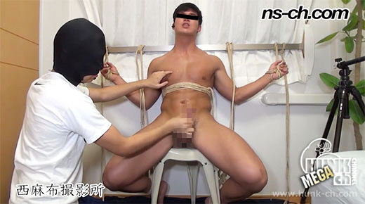 HUNK CHANNEL – NS-403 – S級筋肉男子が緊縛責めで潮吹き!!