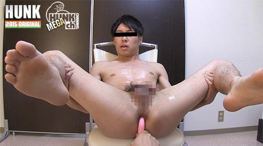 HUNK CHANNEL – GV-OAV448 – 25歳のさっぱり顔なイケメンの悟君が、男の責めを初体験!!