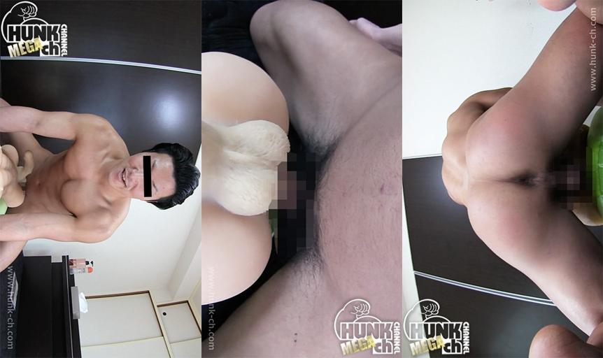 HUNK CHANNEL – GV-OAV540 – 腰を振る度に浮かび上がるエロ過ぎる筋肉!!超人気モデル筋肉ボディの理一(りいち)君が男体型ラブドール相手に擬似SEXを披露!!