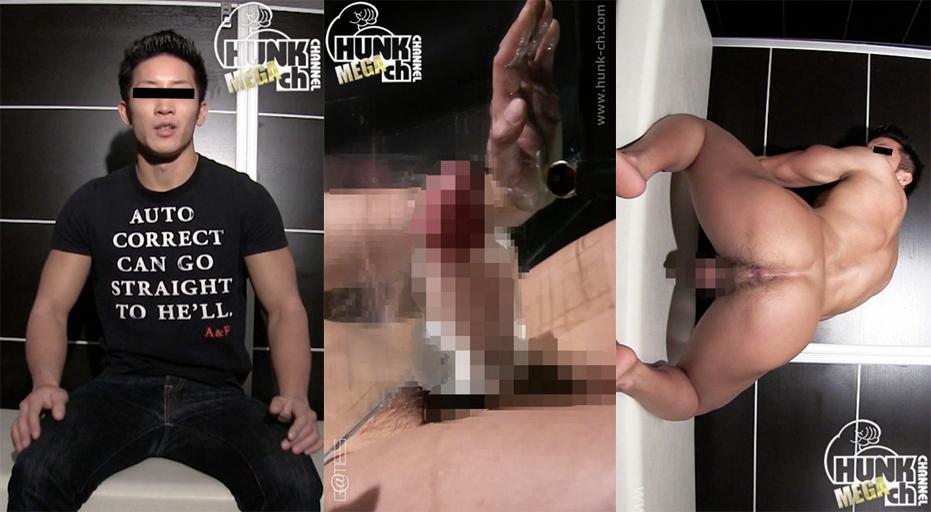 HUNK CHANNEL – GV-OGVR008 – 181cm78kgバルクアップされたハイパーマッスル26歳泰治君!!