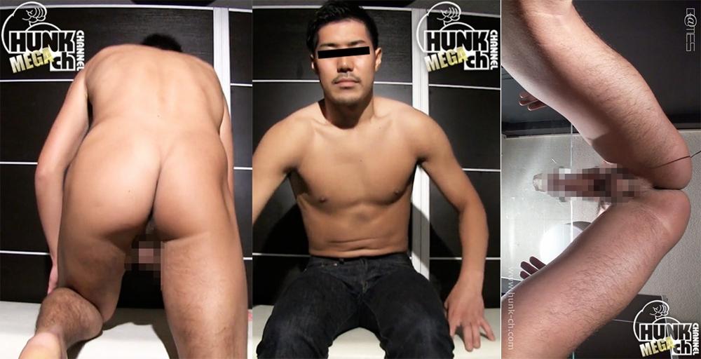 HUNK CHANNEL – GV-OGVR019 – 181cm73kg23歳元バスケットマン、ぶっ太い太股が自慢の高身長イケメン秀之(ひでゆき)くん!!
