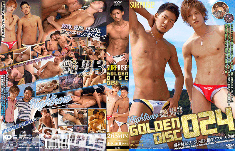 surprise! – surprise! GOLDEN DISC 024-RIGHT NOW&艷男3-(DVD2枚組)
