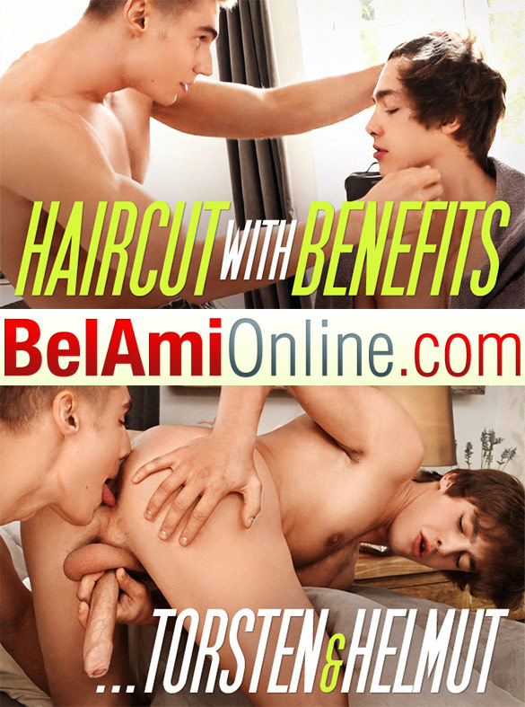 BelAmiOnline – Haircut With Benefits – Helmut Huxley & Torsten Ullman