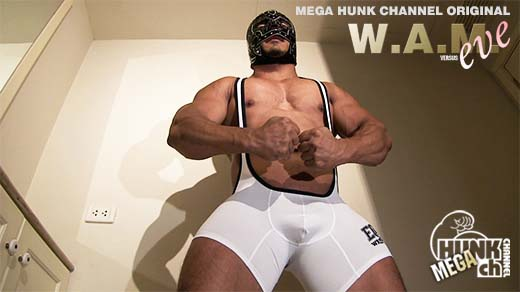 HUNK CHANNEL – WEV-0001 – 暴走!!色情筋肉野獣の攻撃的性器と圧倒的なブリ尻の接合運動に犯される!!!