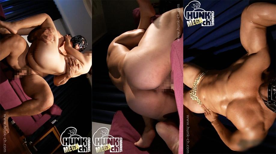 HUNK CHANNEL – WEV-0010 – 無限の力で掘りまくる!!デカマラ凶器が萎えること無く突き刺さる!!