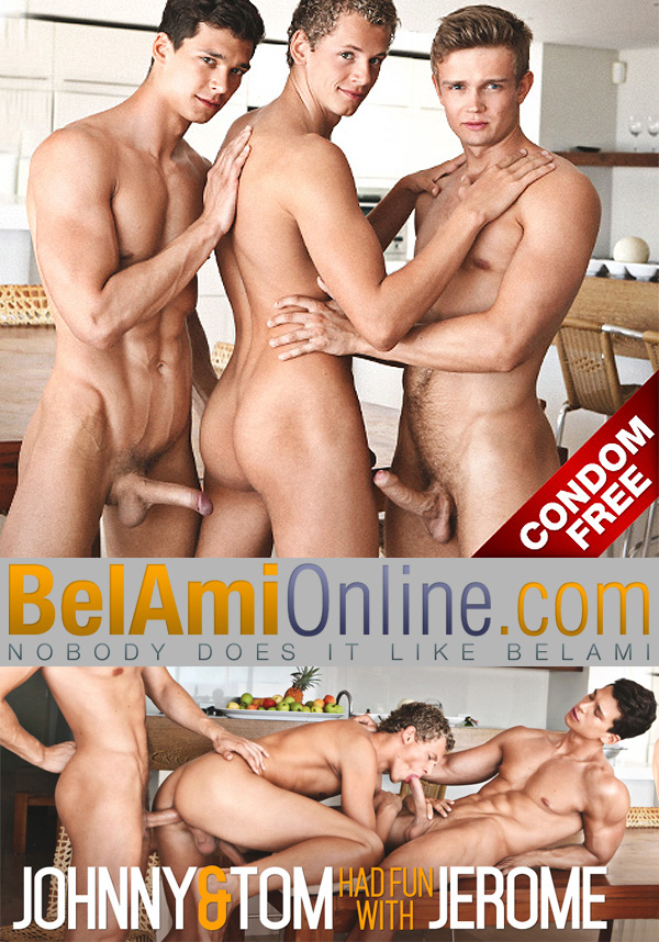 BelAmiOnline – Johnny Bloom & Tom Pollack Tag-Team Jerome Exupery
