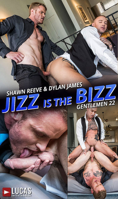 LucasEntertainment – Shawn Reeve Fucks Dylan James (Bareback)