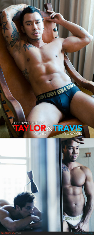 CockyBoys – Postcards From LA – Taylor Reign & Travis Yukarin