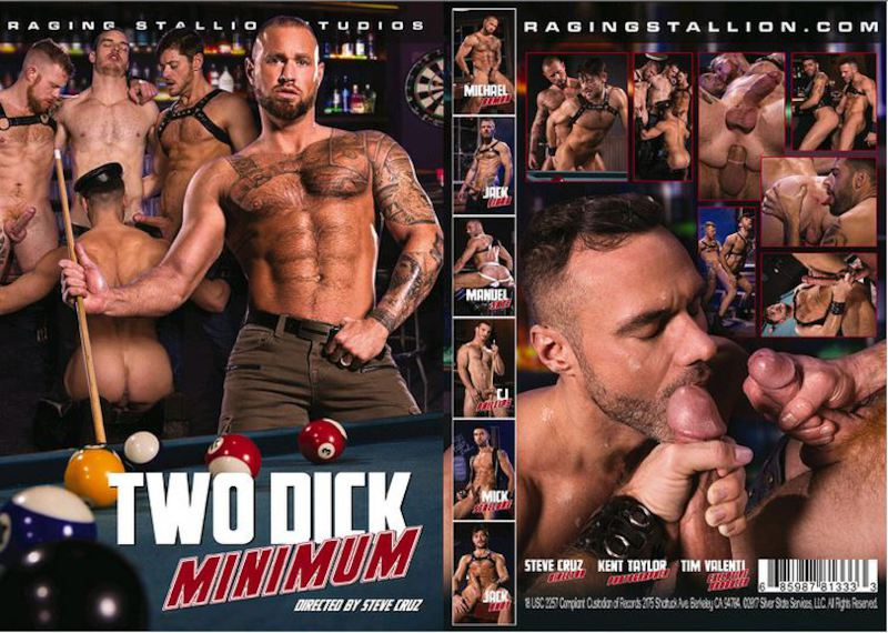 RagingStallion – Two Dick Minimum [2017]