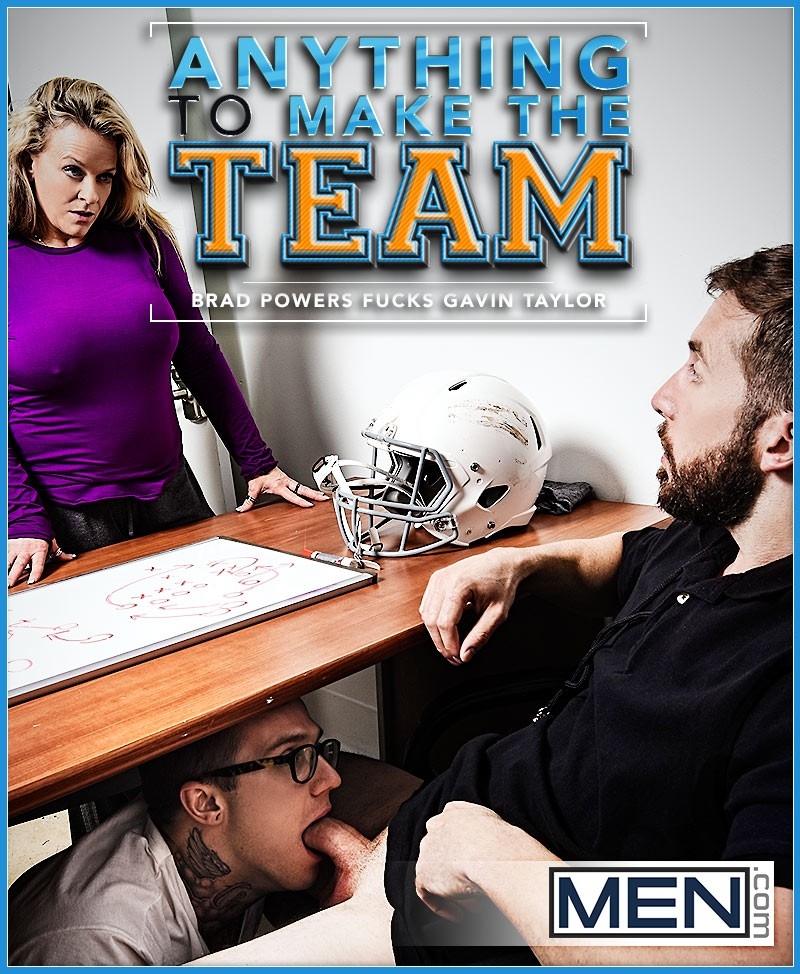 MEN – Anything To Make The Team – Brad Powers & Gavin Taylor
