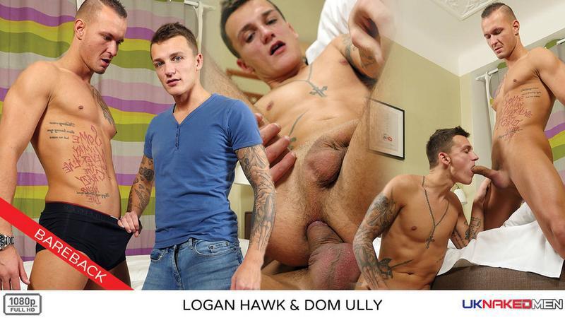 UKNakedMen – Logan Hawk & Dom Ully (Bareback)