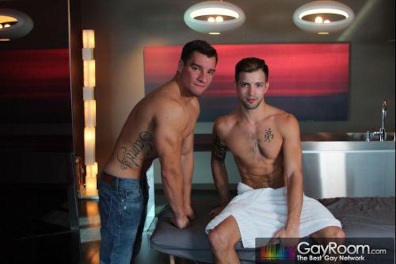 GayRoom – Jock Rub – Casey Everett & Jordan Boss