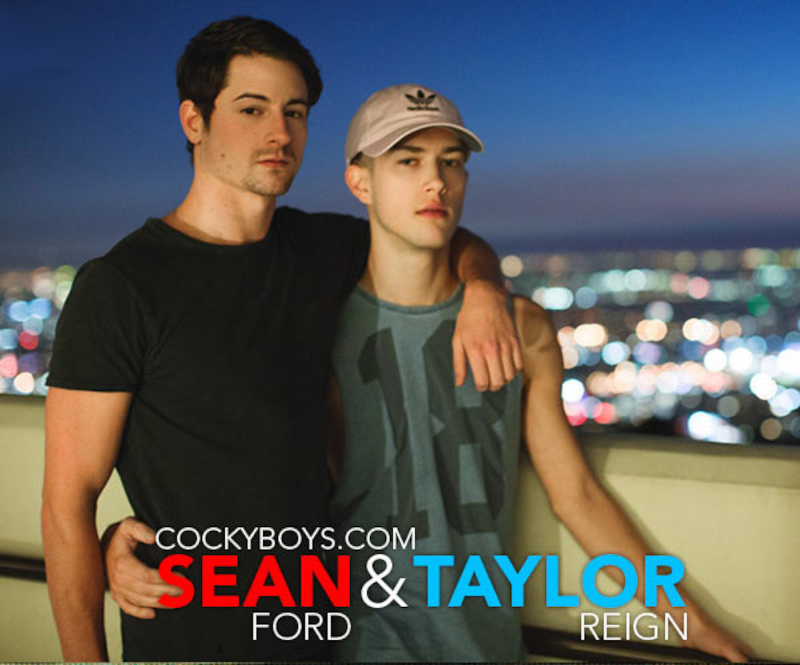 CockyBoys – Postcards From LA – Sean Ford & Taylor Reign