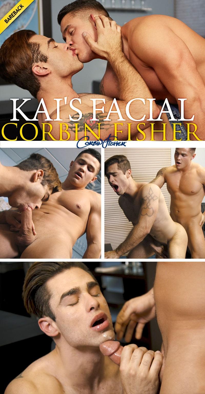 CorbinFisher – ACM – Kai's Facial – Colt Fucks Kail (Bareback)