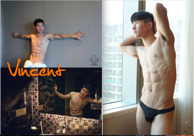 Chinese maleshow – Vincent – BTS & More 170 Pics