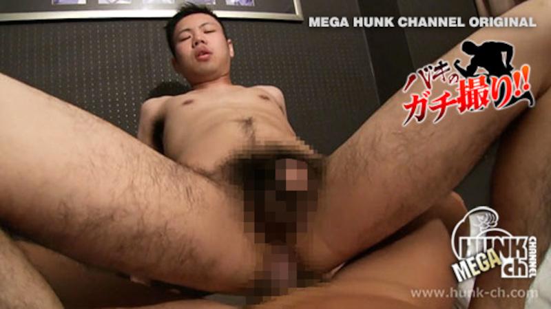 HUNK CHANNEL – BKG-0045 – 硬魔羅バキが容赦ないガチのハメ撮りREAL FUCK!!!下半身の毛深い可愛いイケメンくん!!ネットリエッチ大好きなデカマラスケベくんでした!!!