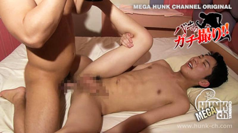HUNK CHANNEL – BKG-0051 – 硬魔羅バキが容赦ないガチのハメ撮りREAL FUCK!!!18歳の超デカマラ大学生がアナル超快感!!!