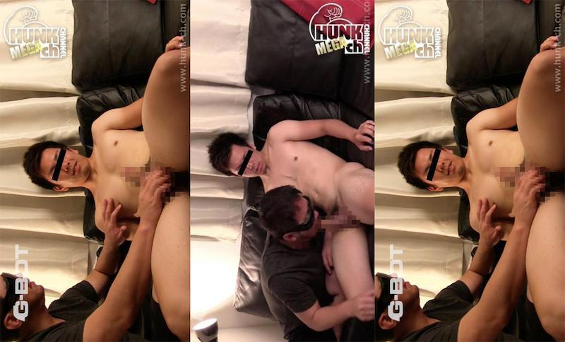 HUNK CHANNEL – BOT-0143 – 快感には逆らえない!170x65x19の真面目系ゴツムチ野球ノンケ青年を男開発!
