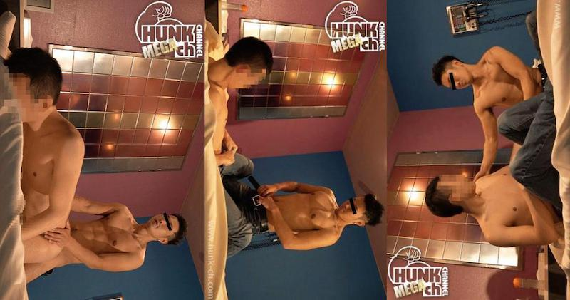 HUNK CHANNEL – GC-0019 – ノンケvsゲイ!!『ガッチンコ!!』賢司(けんじ)vsこうへい175cm55kg28歳!!ノンケに犯される感覚にこうへい恍惚射精!!!