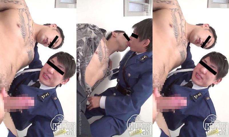 HUNK CHANNEL – MENP-0922 – 極道×POLICE MAN-穴で出世する男たち-、K官とヤ○ザが取調室で大胆にもセックスをする!