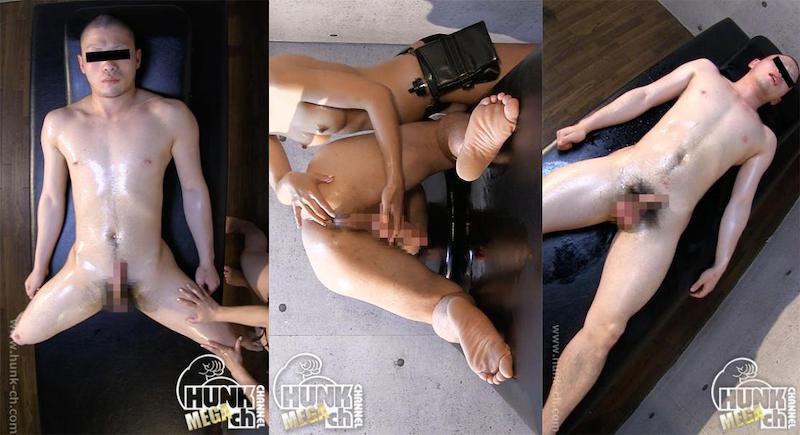 HUNK CHANNEL – MM-0034 – ヒーリング♀エロマッサージでノンケの性感スイッチを強制爆突き!!ちょっと強面、坊主頭の将晴(まさはる)くん20歳!!エロムード満載です!!!