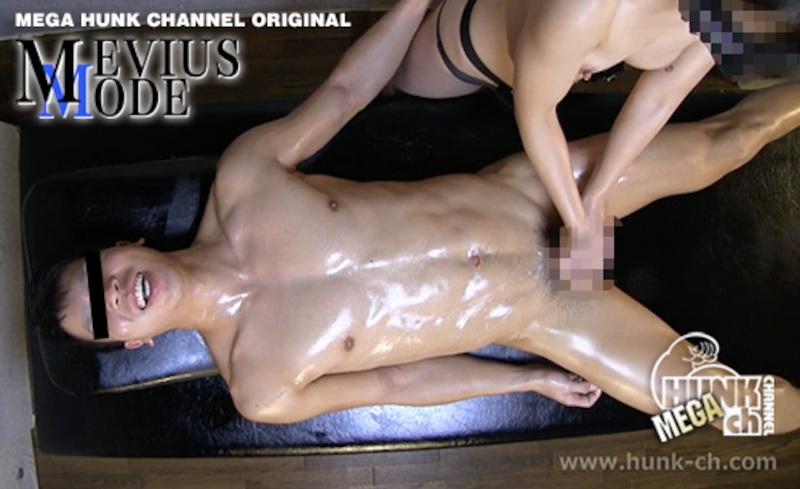 HUNK CHANNEL – MM-0041 – ヒーリング♀エロマッサージでノンケの性感スイッチを強制爆突き!!レスリングで鍛えあげた全身の筋肉が蠢く!!23歳修人(しゅうと)くん大人な太デカマラちんこです!!!