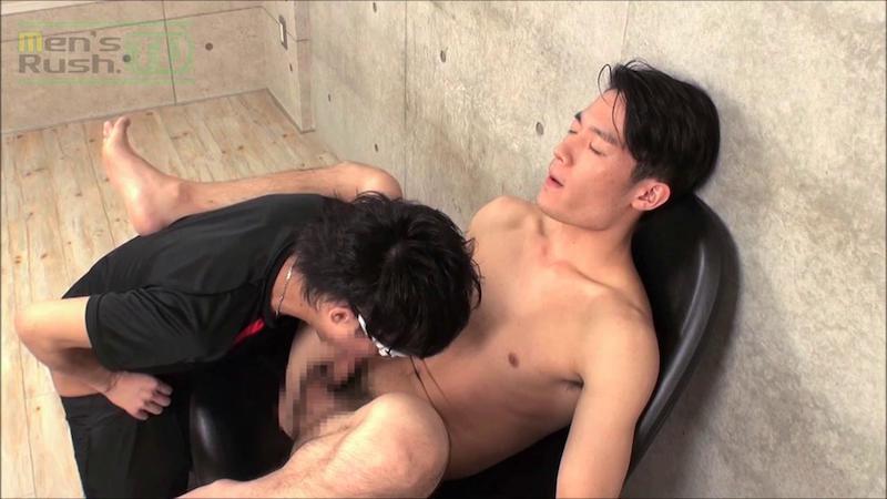 Men's Rush.TV – MR-TK354 – 引き締まった身体の好青年がフェラ&手コキ責めされ超噴射☆