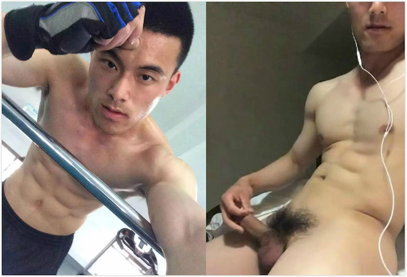 Chinese Maleshow – Officer Xiao Lei 鬥獸場 – 士官小磊