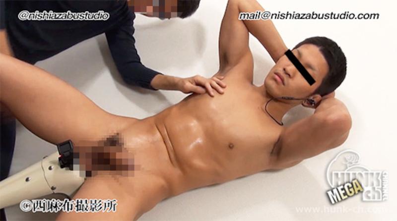 HUNK CHANNEL – NS-187 – 体育会系ノンケの未使用アナルを生堀り!!