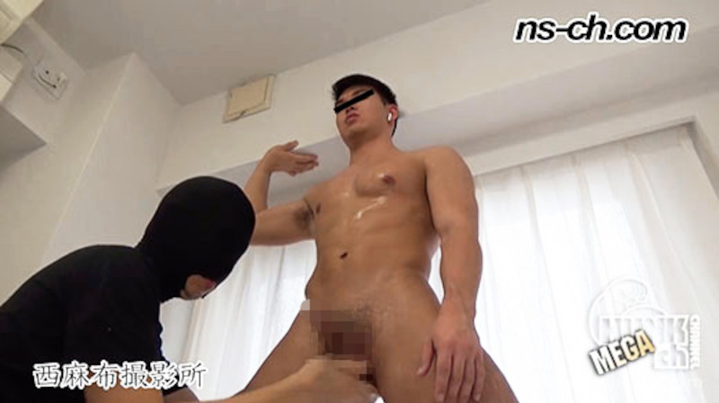 HUNK CHANNEL – NS-451 – S級筋肉男子は潮吹き体質でした!!オシッコ出ちゃった!!