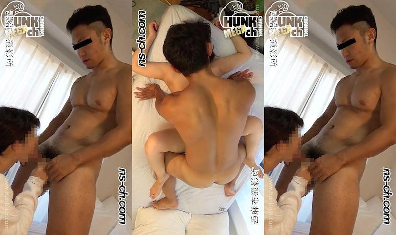 HUNK CHANNEL – NS-478 – ノンケにドッキリ撮影!!一人シコっていたノンケがいる部屋に女性を潜入!!