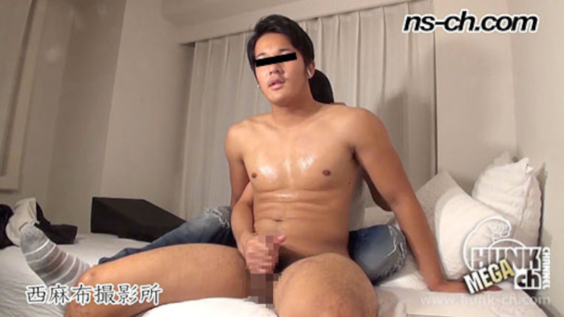 HUNK CHANNEL – NS-495 – 超ガチムチ早漏男子の元気な息子!!