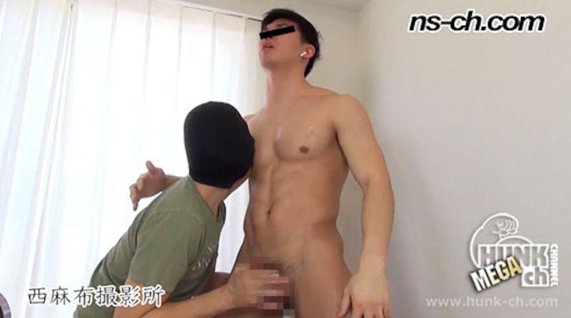 HUNK CHANNEL – NS-540 – S級筋肉男子が悶えながら滝のごとく潮吹き!!