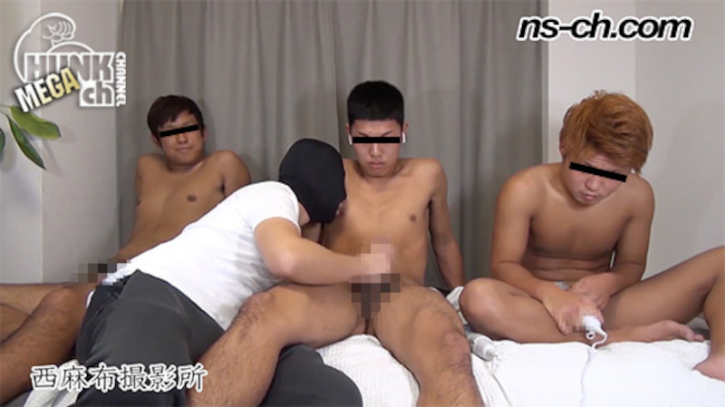 HUNK CHANNEL – NS-654 – 男経験0の体育会男子たち(185cm80kg19歳・171cm74kg19歳・174cm72kg20歳)