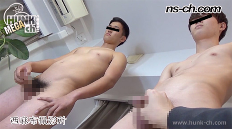HUNK CHANNEL – NS-718 – 男経験0の体育会男子たち(180cm83kg19・173cm63kg19)