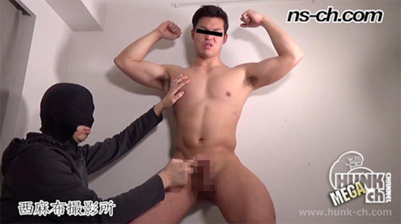 HUNK CHANNEL – NS-773 – おしっこ漏れそうなS級筋肉男子が直撮影で膀胱ダム決壊潮吹き