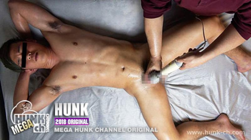 HUNK CHANNEL – GV-OAV637 –「電マオルガズム」、翼(つばさ)18歳大学生、徹平(てっぺい)22歳、勇気(ゆうき)24歳、ノンケ三人が電マ責めで究極の快感を味わう!!!