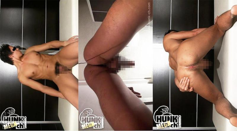 HUNK CHANNEL – ROM8003 – ROOM072+アナル専科8、182cm78kg23歳バスケット経験者の晋也(しんや)くん、鍛えあげられた胸筋が超エロ!!